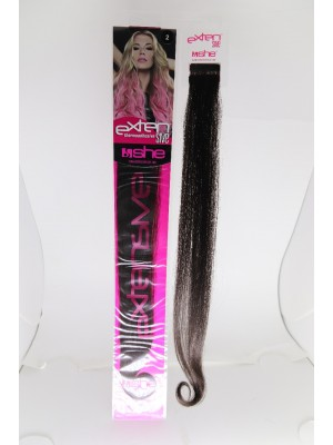 Cabelo Natural N2 Para Mega Hair fios de 55/60 cm