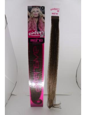 Cabelo Natural N8 Para Mega Hair fios de 55/60 cm