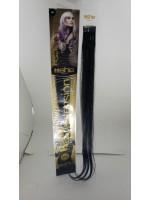 Cabelo Natural She N1B Para Mega Hair fios de 55/60 cm