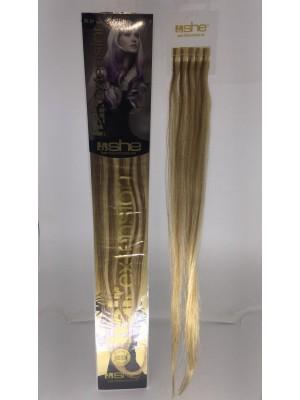 Cabelo Natural She N20.27 Para Mega Hair fios de 55/60 cm