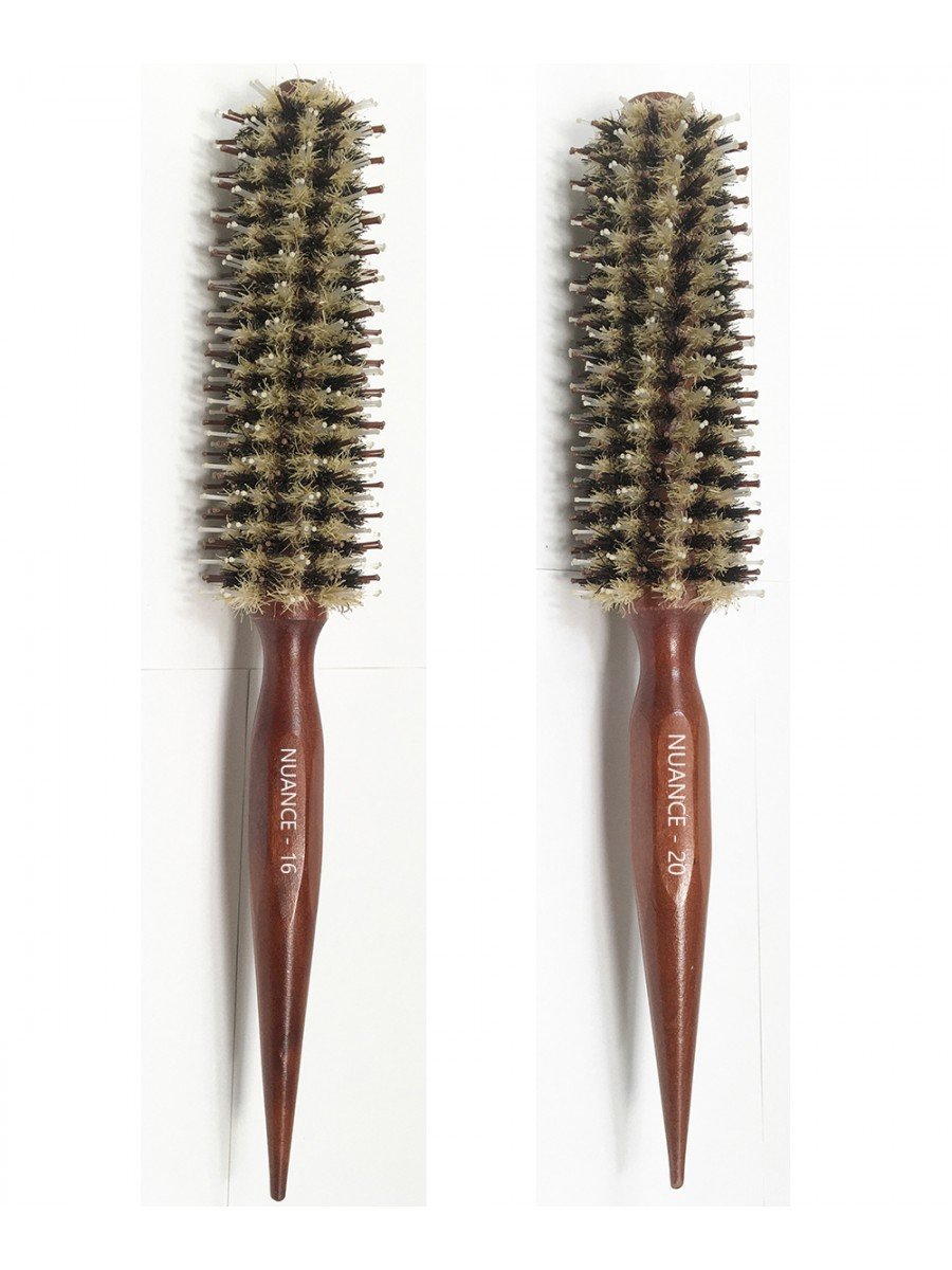 Escovas Nuance Kit C/ 2 Tamanhos #16 #20 Espiral