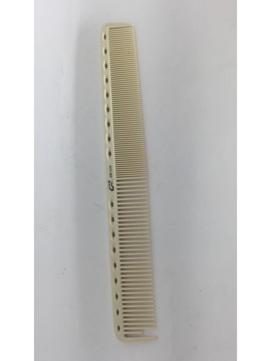 Pente Profissional Carbon Comb Masculino Branco