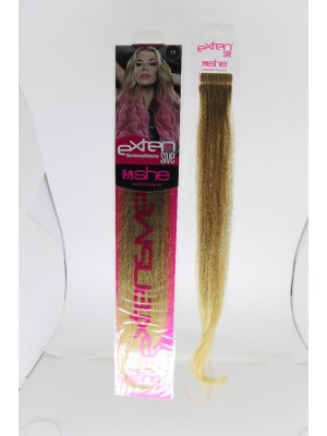Cabelo Natural N15 Para Mega Hair fios de 40/45 cm