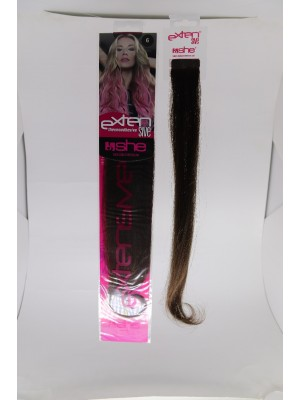 Cabelo Natural N6 Para Mega Hair fios de 40/45 cm