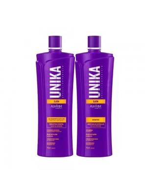 Unika Ojon Shampoo Anti-resíduo 1l + Escova Progressiva Sem Formol 1l