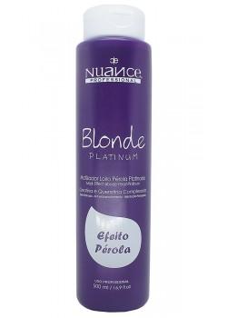 Mascara Matizador Blonde Platinum Nuance  (pérola)