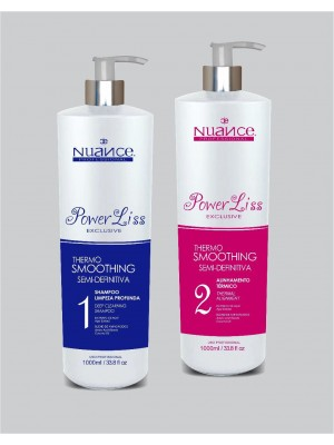 Kit Semi Definitiva Nuance Power Liss Progressiva Kit 2x1